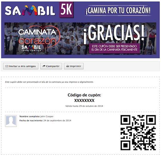 Sambil-coupon