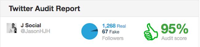 Fake followers test 2