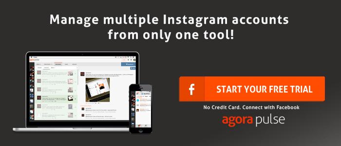 Instagram management tool Agorapulse