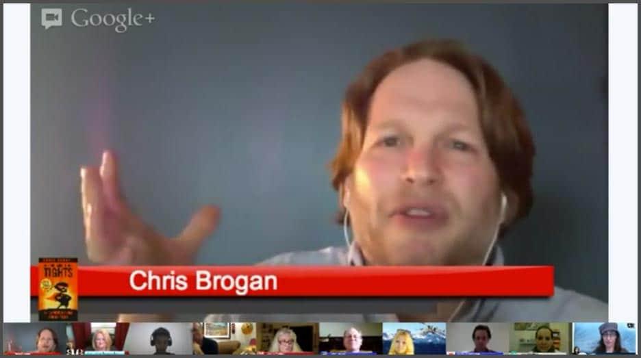 Chris Brogan Hangout On Air