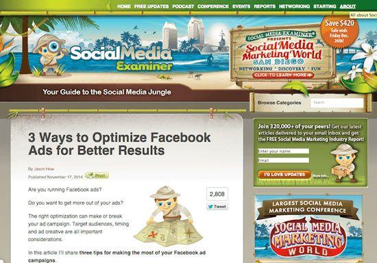 Guest post on Socialmediaexaminer