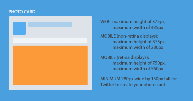 Twitter Photo Card Image Dimensions