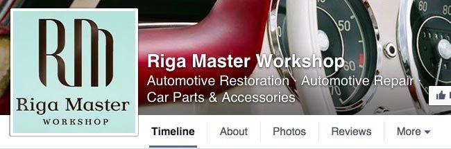 Riga Master Workshop