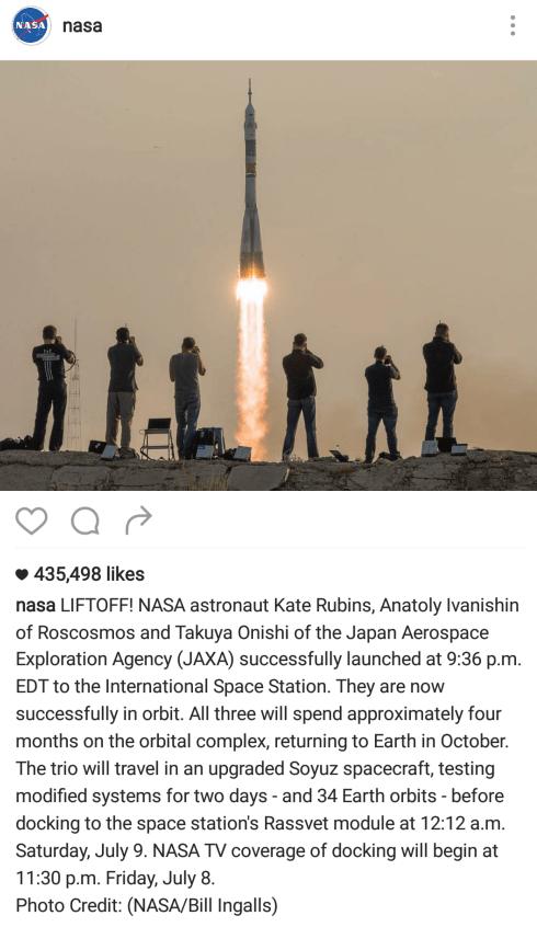 popular Instagram post