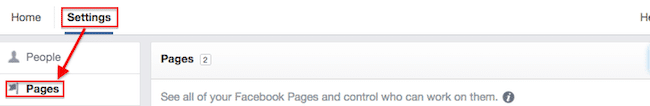 Facebook Business Manager Settings