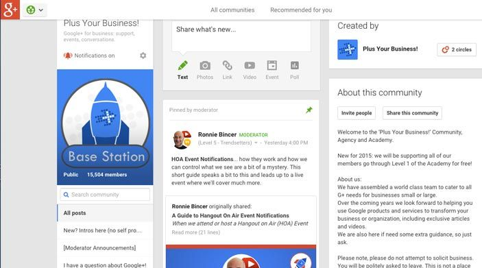 Resharing-content-into-Google-communities