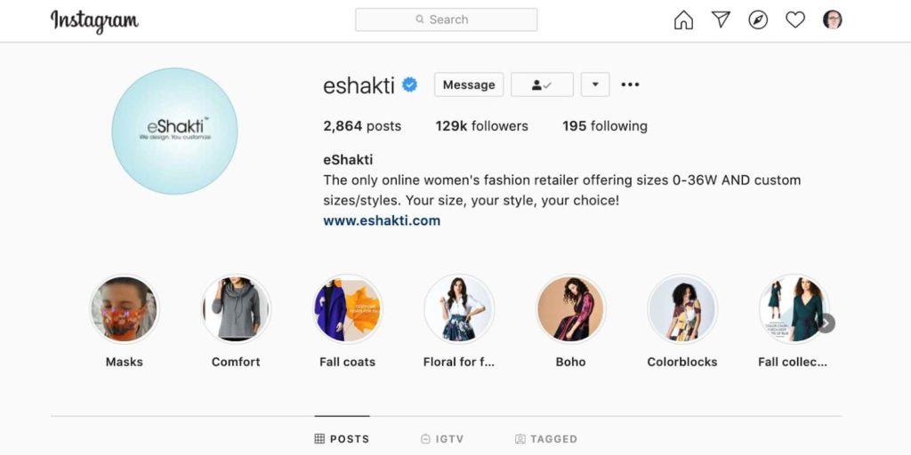 instagram stories help branding when selling on Instagram