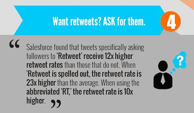 retweets - ask for them