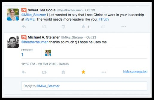 I reached out to Michael Stelzner, Founder of Social Media Examiner and he replied.