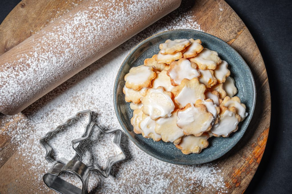 cookie preparation for the holidays