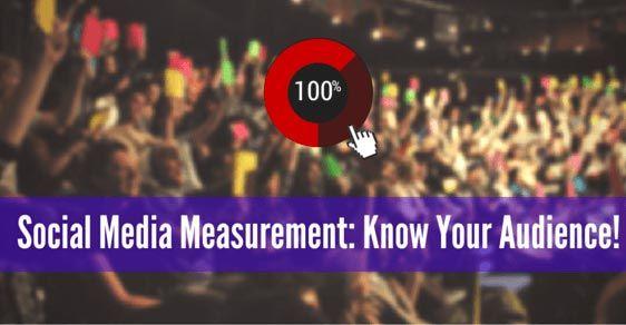 social media measurement audience