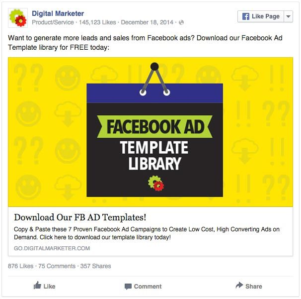 page category facebook