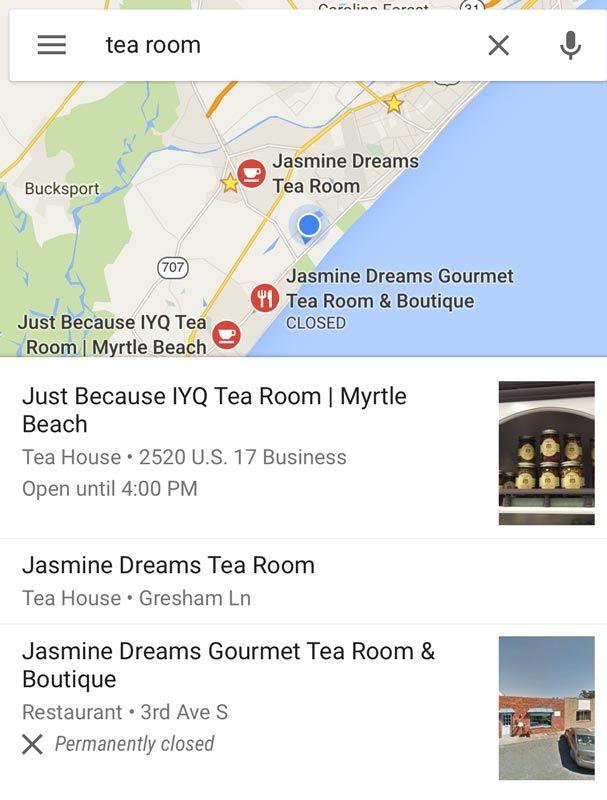 google location marketing