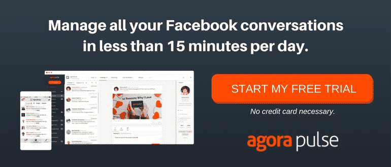 Facebook management tool Agorapulse