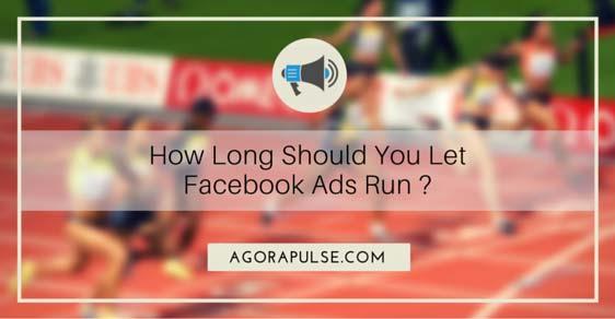 facebook ad campaign run