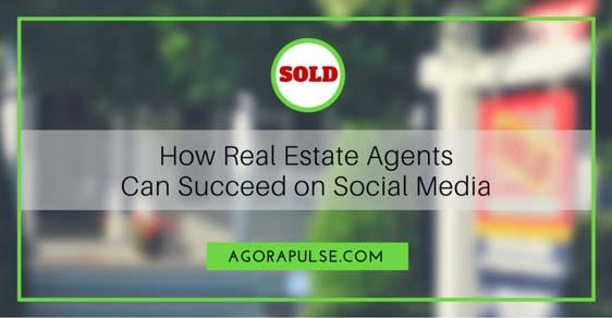 social media real estate