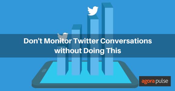 Monitoring Twitter