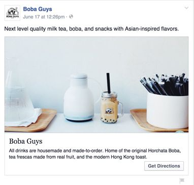 How to drive in-store sales with Facebook local awareness ads