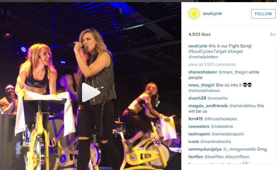 fitness brands soulcycle