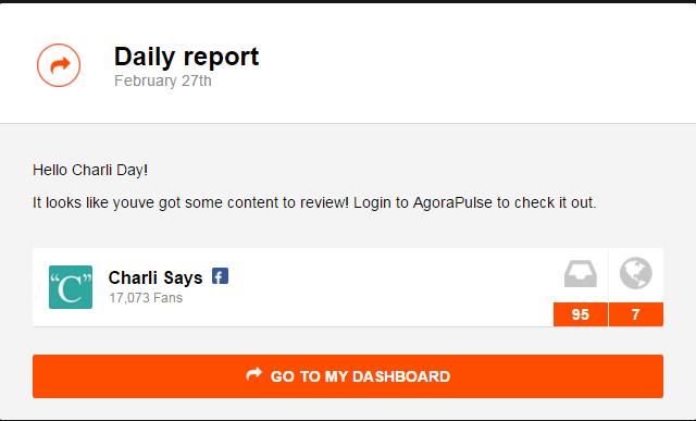 agora daily report