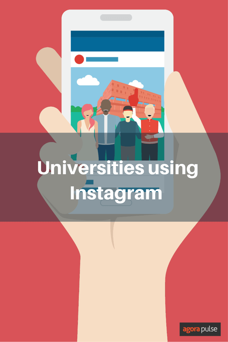 These universities on Instagram clearly know what to post. Great example of higher ed use of Instagram as a platform.