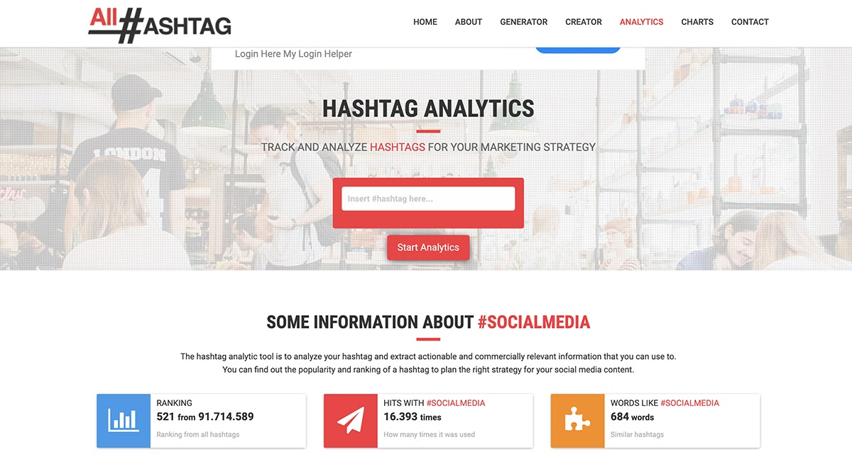 hashtag tools for hashtag analytics