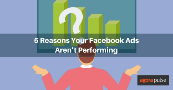 facebook ad performance issues