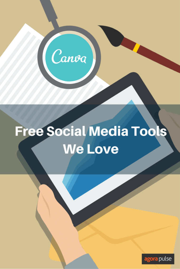Why we love the free social media tool Canva.