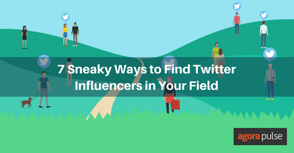 find Twitter influencers
