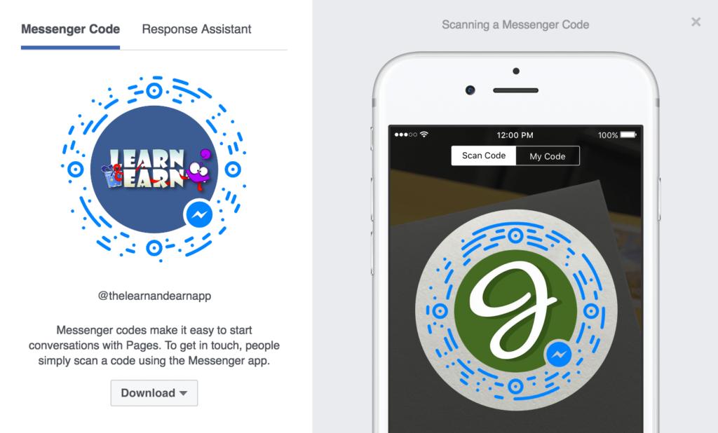facebook-marketing-messenger-code