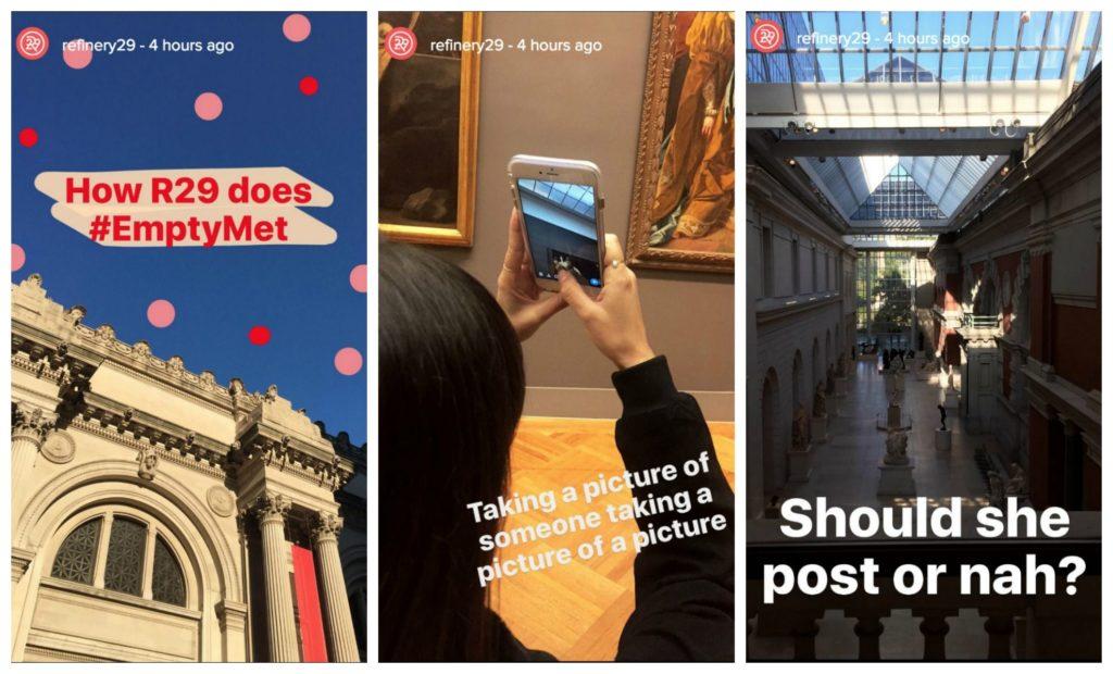 Refinery 29 Instagram Stories Behind The Scenes