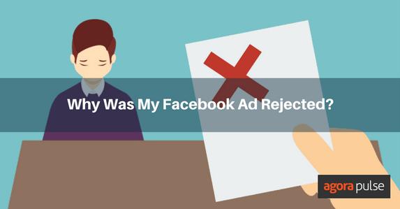 Facebook ad rejected