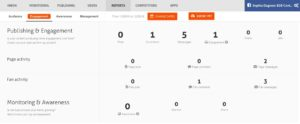 Using AgoraPulse to track FB engagement