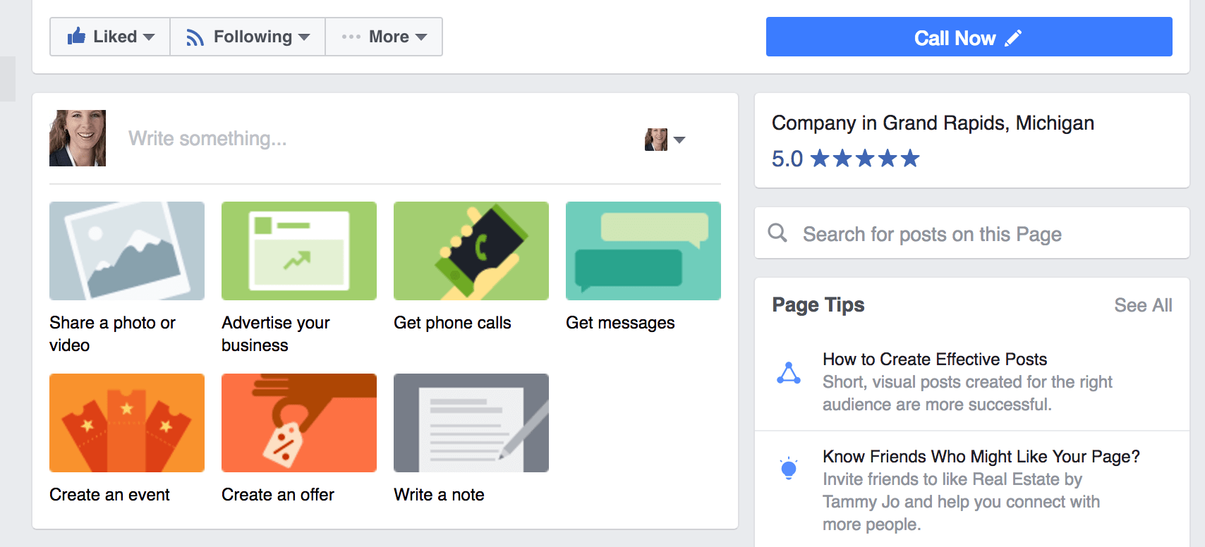 New Post Type Options on Facebook Business Pages
