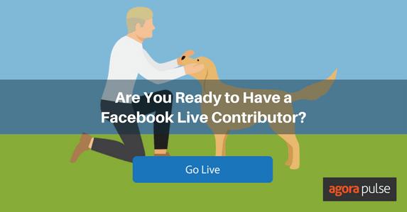 facebook live contributor