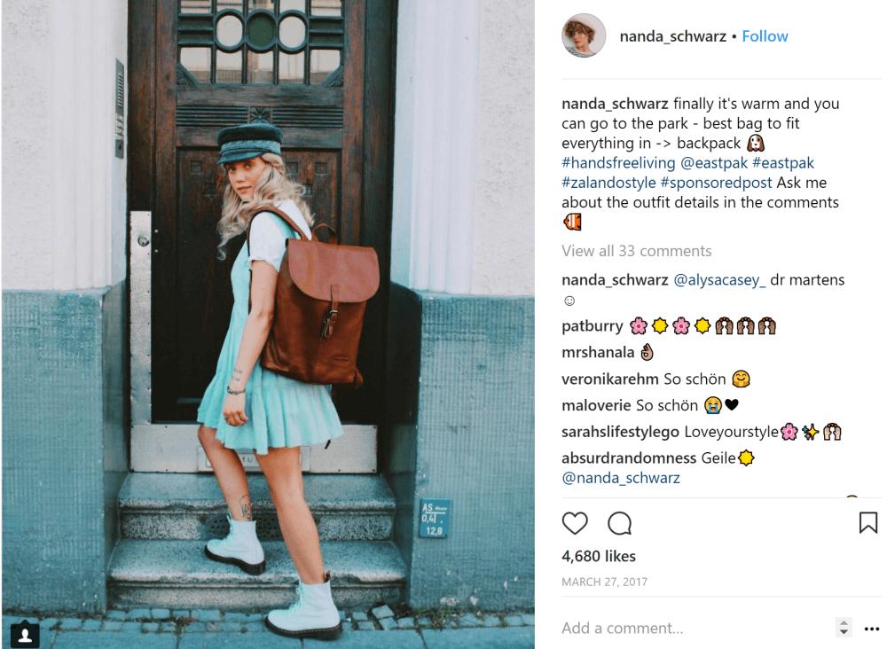 sponsored post instagram
