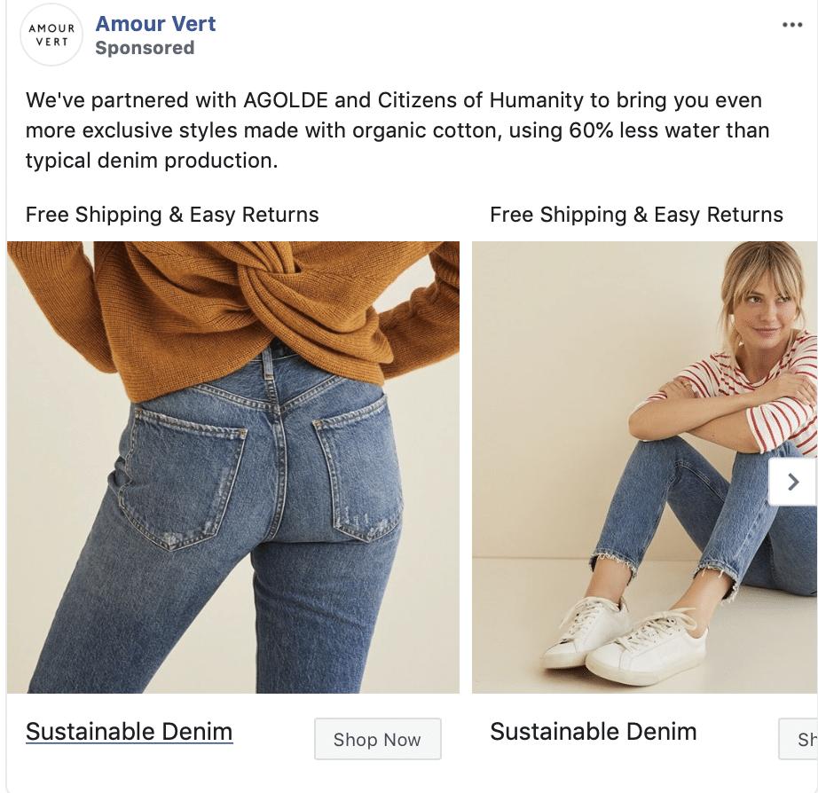 partnership for facebook ads