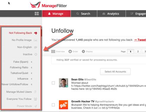 ManageFlitter is a TweetDeck alternative