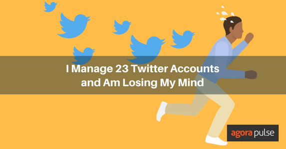 Managing multiple Twitter accounts
