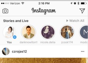 Instagram Stories reach
