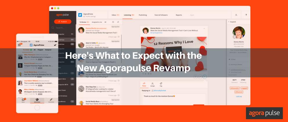 New Agorapulse Revamp