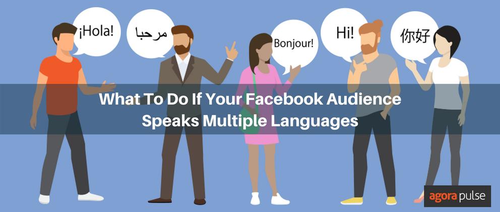 Facebook audience multiple languages