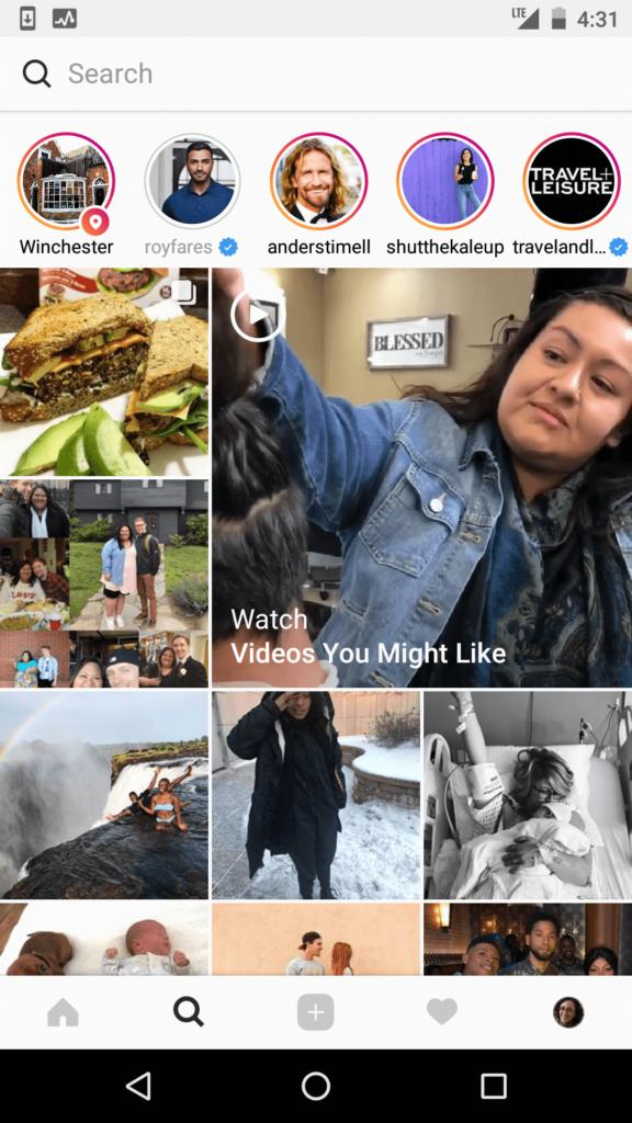 instagram explore video
