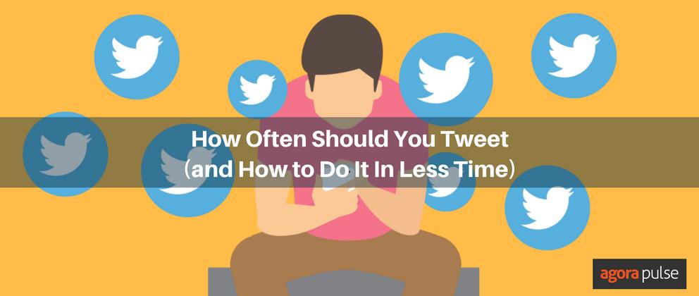 how often should i tweet