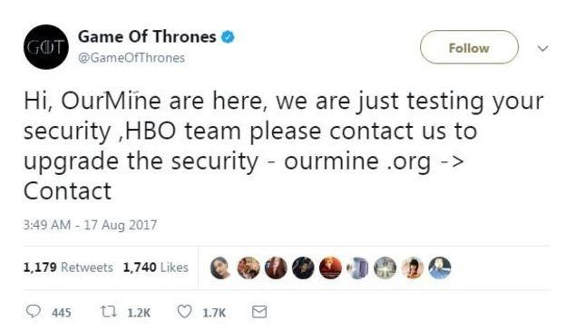 social media hacking example