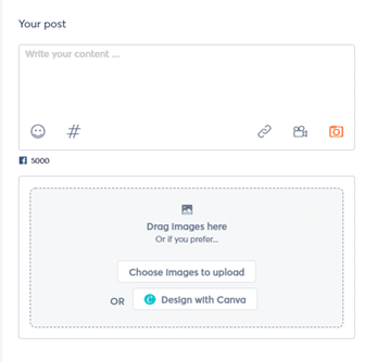 add extras to your social media post example