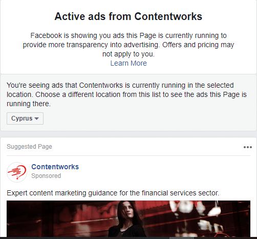 social media predictions- Facebook ads
