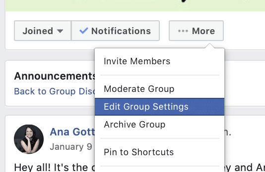 Facebook group features you might not know about