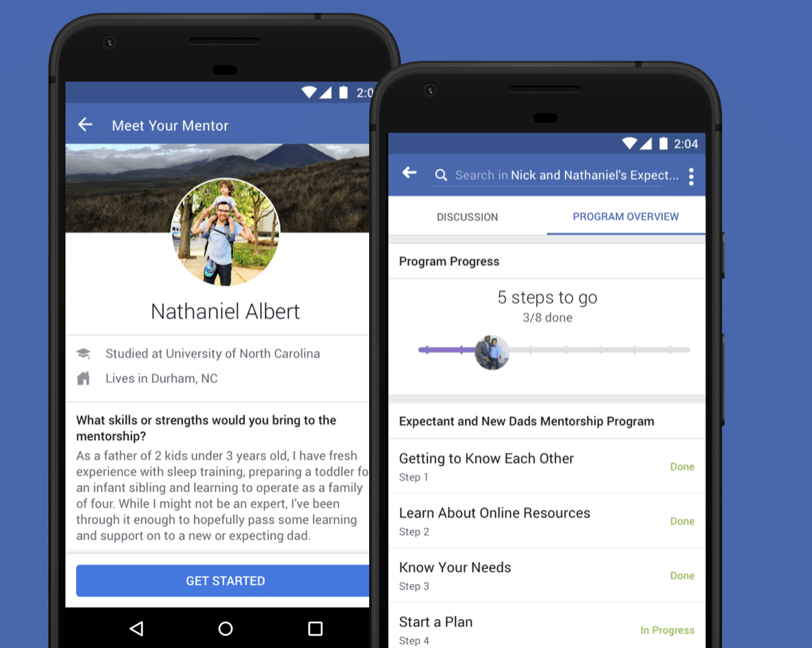 meet your mentor in your facebook group