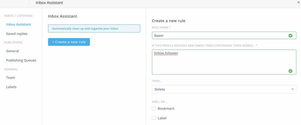 Eliminate spam from your LinkedIn inbox -- screenshot step 7